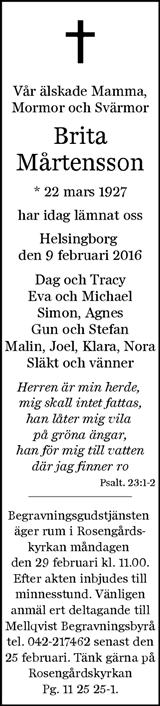 mellqvist begravningsbyrå helsingborg