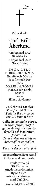 norrköpings tidningar dödsannonser