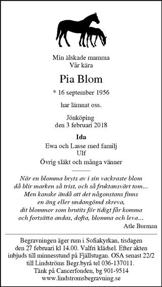 fonus jönköping dödsannonser